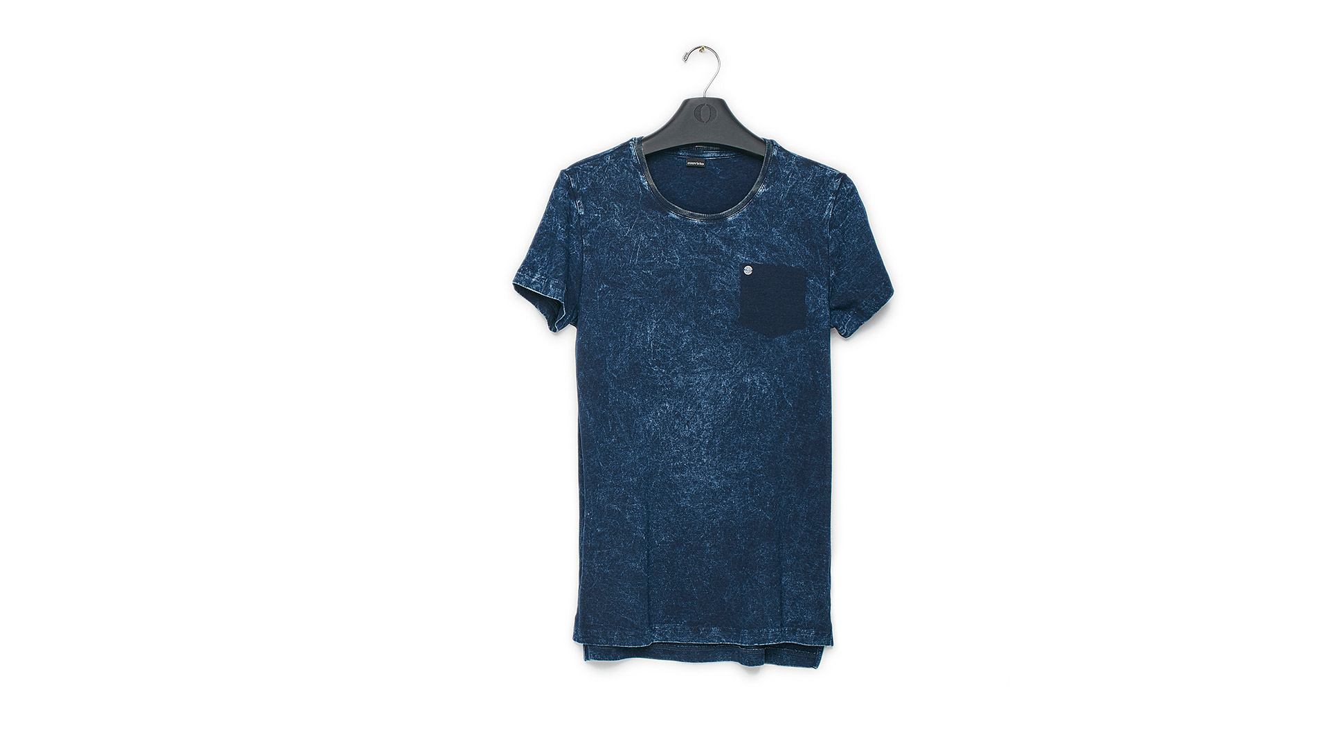 CAMISETA MASC CVTO MC INDIGO LONG LINE