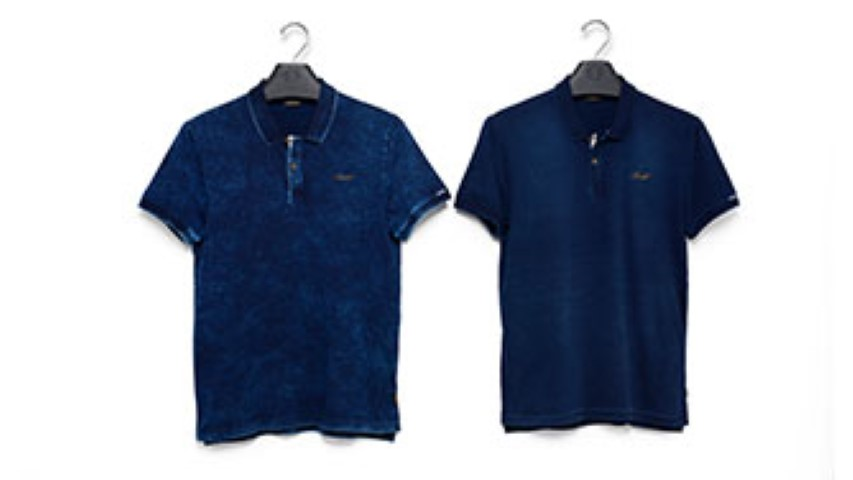CAMISETA POLO MASC CVTO MC INDIGO
